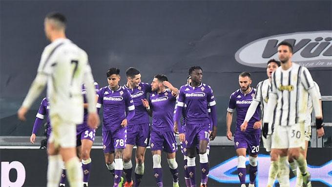 Juventus đã phải nhận trận thua đầu tiên ở Serie A mùa này