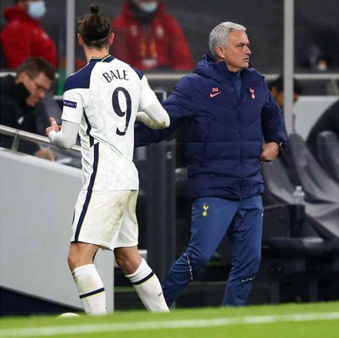 Bale không mang lại hiệu quả cho Tottenham sau khi được tung vào sân từ ghế dự bị