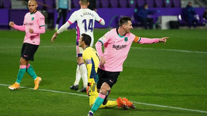 Messi đã tìm lại được niềm vui cả trên sân cỏ lẫn trong tâm hồn