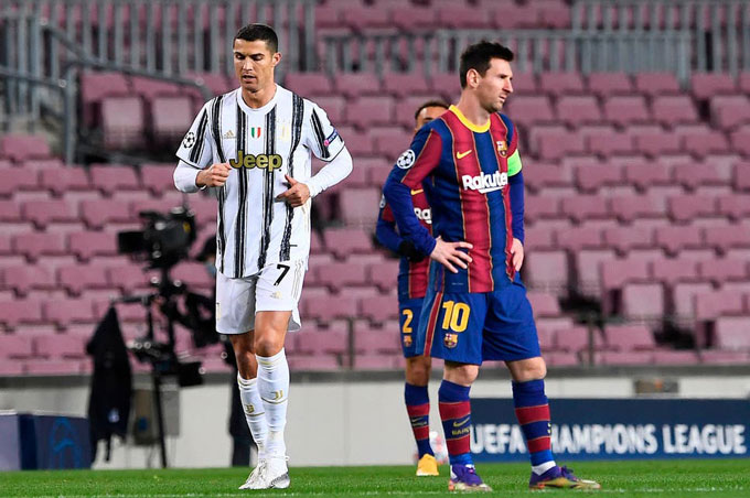 Messi rơi vào đỉnh điểm thất vọng sau khi Barca thua Juventus 0-3