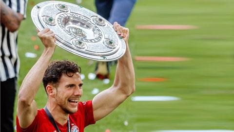 Leon Goretzka: 'Bayern muốn bảo vệ tất cả các danh hiệu'