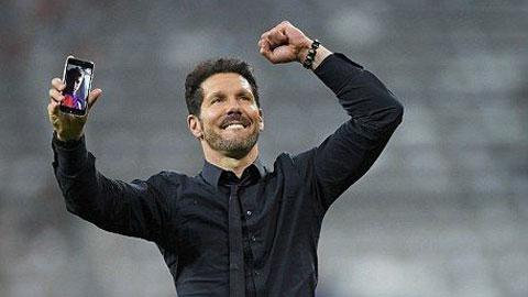 HLV Diego Simeone chạm mốc 300 chiến thắng cùng Atletico: Thần tốc và ngoạn mục