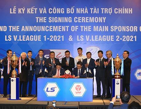 Tập đoàn LS tiếp tục đồng hành cùng 2 giải đấu chuyên nghiệp của Việt Nam