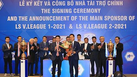 Tập đoàn LS tiếp tục tài trợ chính cho V.League, hạng Nhất