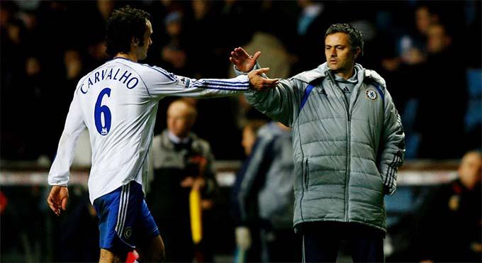 Ricardo Carvalho từng là học trò của HLV Mourinho ở Porto, Chelsea và Real
