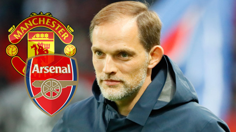 Tuchel được liên hệ tới Arsenal và M.U sau khi bị PSG sa thải