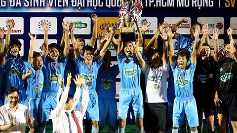 Đánh bại đội bóng bầu Đức, ĐH Cần Thơ vô địch SV-League 2020