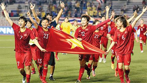 Việt Nam lại phải đấu với Thái Lan để tranh vé dự World Cup nữ 2023