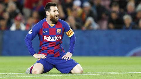 Messi và năm 2020 kỳ lạ