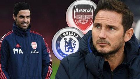 Arteta vs Lampard: Hai vị tướng trẻ trong bức màn hoài nghi