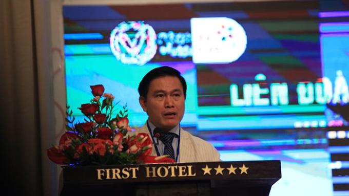 Ông Trần Anh Tú tái đắc cử Chủ tịch HFF - Ảnh: Lê Đình