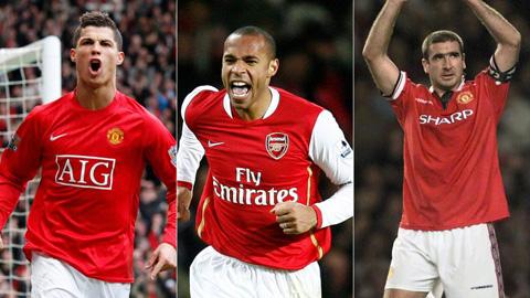 Vượt Henry và Cantona, Ronaldo là thương vụ chuyển nhượng tốt nhất lịch sử Premier League
