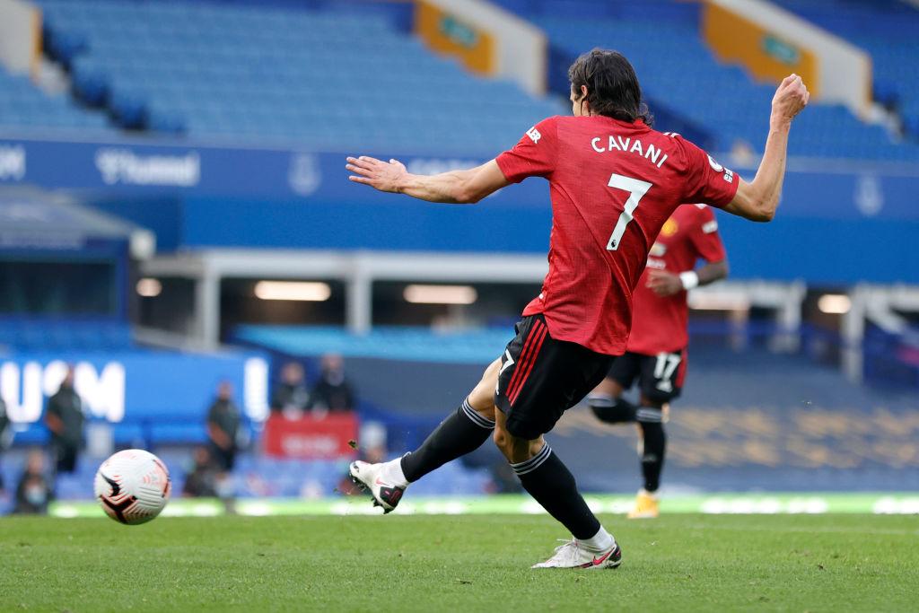 Bàn thắng của Cavani vào cuối trận đã giúp Man United có trận đấu toàn tốt