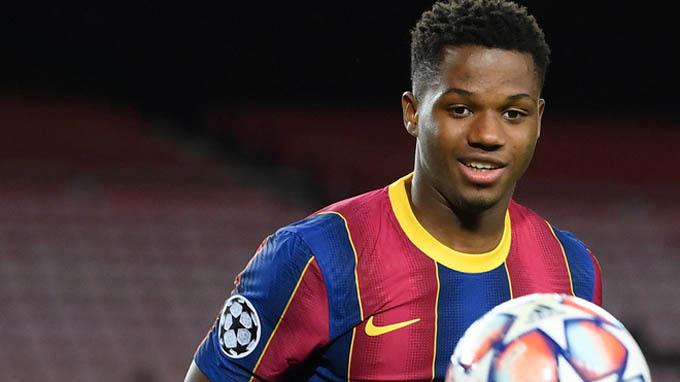 Barca nên cân nhắc bồi dưỡng Fati thế chỗ Messi trong tương lai