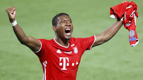 David Alaba gần Real Madrid nhất