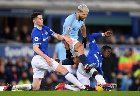 Man City được dự đoán sẽ có chiến thắng trước đội nhì bảng Everton