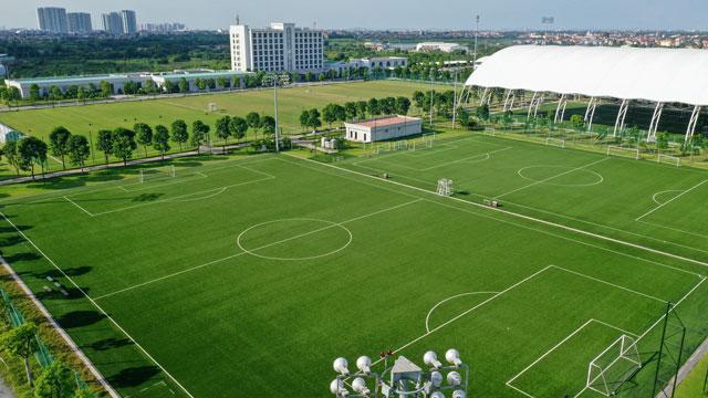 PVF sơ hữu cơ sở vật chất hiện đại cùng bộ máy chuyên môn, vận hành được Liên đoàn Bóng đá châu Á AFC công nhận là một trong ba học viện đầu tiên tại Châu Á đạt chứng nhận học viện bóng đá 3 sao