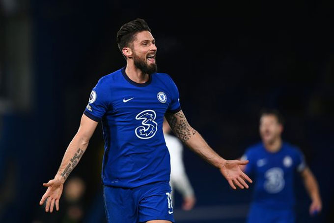 Giroud ghi bàn duy nhất cho Chelsea