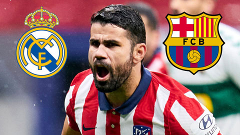 Costa sẽ bị phạt nặng nếu muốn gia nhập Real hoặc Barca