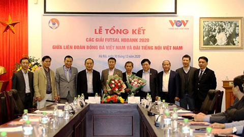 VFF và VOV tổng kết công tác tổ chức các giải futsal quốc gia 2020 và định hướng kế hoạch năm 2021