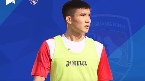 Trung vệ Đào Duy Khánh chính thức gia nhập CLB Than Quảng Ninh