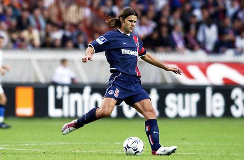 Pochettino từng là đội trưởng của PSG khi còn là cầu thủ cách đây gần 20 năm
