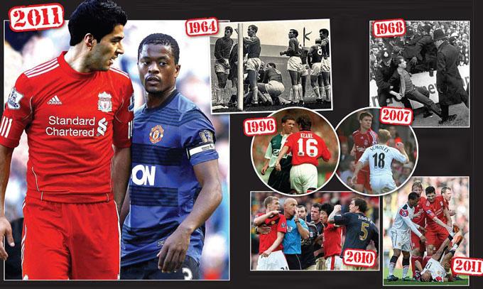 Những trận đấu giữa M.U vs Liverpool đều rất căng thẳng và là đặc trưng của bóng đá Anh