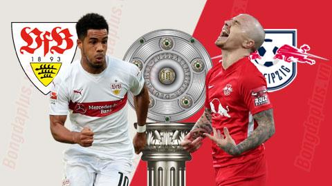 Vòng 14 Bundesliga: Thắng nhẹ Stuttgart, RB Leipzig lên đỉnh