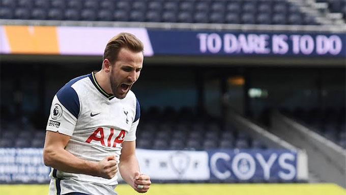 Kane đã có bàn thắng thứ 10 tại giải Ngoại hạng Anh mùa này