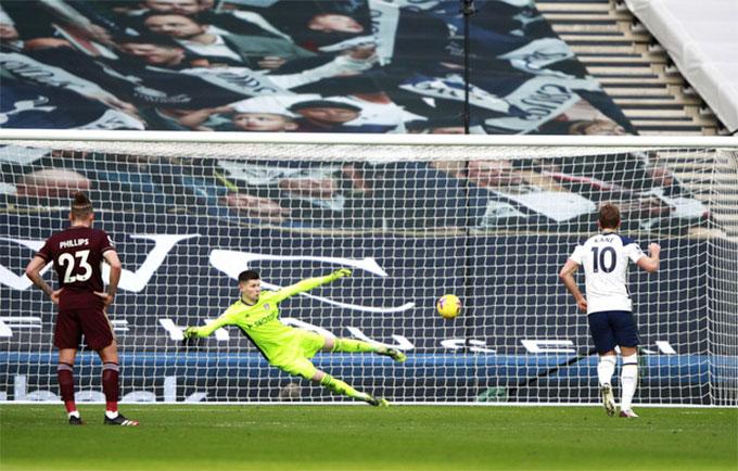 Kane thực hiện thành công cả 9 quả đá phạt đền gần đây cho Tottenham