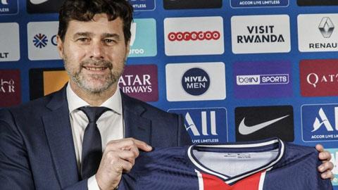 PSG bổ nhiệm Pochettino làm HLV trưởng