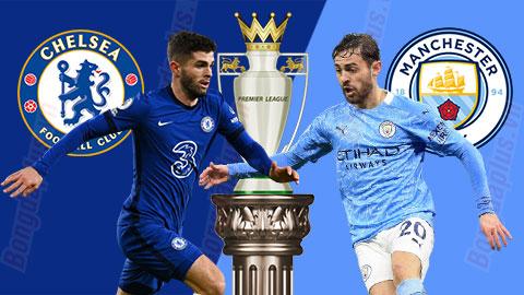 Trực tiếp Chelsea vs Man City, 23h30 ngày 3/1