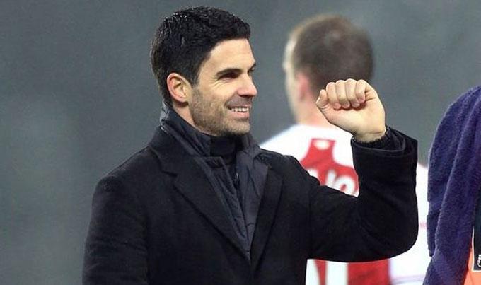 Arteta đang tràn đầy tự tin giúp Pháo thủ giành vé dự cúp châu Âu mùa tới