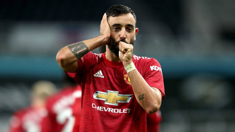 M.U xuất sắc nhất Premier League kể từ khi Bruno Fernandes gia nhập