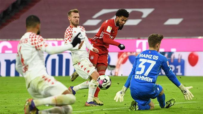 Bayern đã có thắng lợi thứ 3 liên tiếp ở Bundesliga