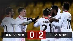 Kết quả Benevento 0-2 Milan: Đội khách trở lại vị trí số 1 ở Serie A
