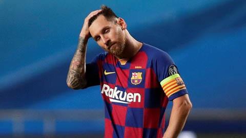 Messi bị loại khỏi đội hình hay nhất năm 2020