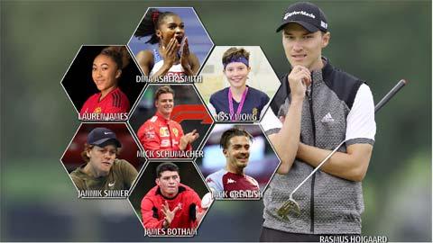 10 ngôi sao thể thao đáng theo dõi nhất trong năm 2021