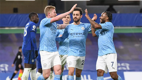 Vượt Liverpool, Man City là ứng cử viên số 1 cho chức vô địch Ngoại hạng Anh