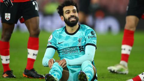 Những con số đáng quên sau thất bại bạc nhược của Liverpool