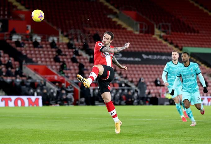 Danny Ings ghi bàn duy nhất bằng cú dứt điểm tinh tế ngay phút thứ 2