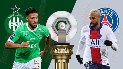 Kết quả St.Etienne 1-1 PSG: Ngày ra mắt kém vui của Pochettino