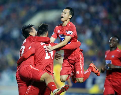 Hải Phòng là một trong những đội bóng có sự chuẩn bị sớm nhất cho mùa giải 2021- Ảnh: MINH TUẤN