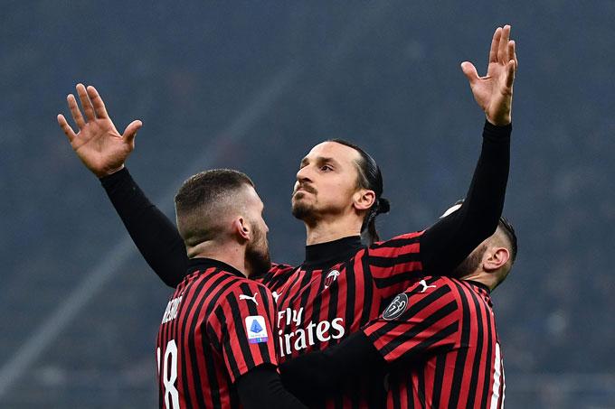 Ibrahimovic có vai trò quan trọng với Milan nhưng đội bóng này vẫn có thể duy trì mạch trận thăng hoa khi anh chấn thương