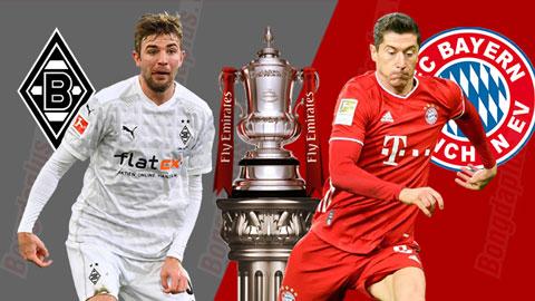 Nhận định bóng đá M'Gladbach vs Bayern, 02h30 ngày 9/1