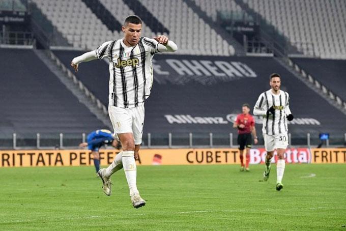 Trong khi đó, Juventus luôn gặp khó mỗi khi Ronaldo không thi đấu