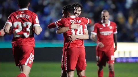 Vòng 2 Cúp Nhà vua: Sevilla và Villarreal đi tiếp, 2 đại diện La Liga bị loại