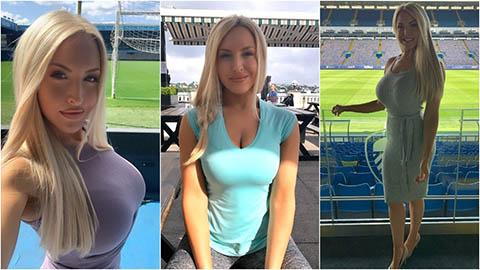 Emma Louise Jones, MC của LeedsTV bị ám ảnh bởi hành động quấy rối từ CĐV quá khích