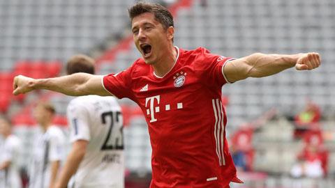 Vì sao Lewandowski hay ghi bàn cuối trận?