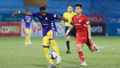 Bình Định hy vọng sẽ cất cánh khi chiêu mộ đồng Vua phá lưới V.League 2020 Rimario của Hà Nội FCẢnh: Đức Cường